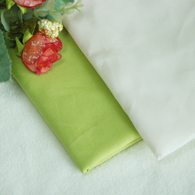 taobao agent Yellow-green thin cotton cloth Beige cloth 1/4 meter BJD baby clothes patchwork handmade DIY Kerr plain solid color