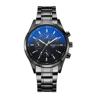 【2019新款】男士手表石英表钢带电子表