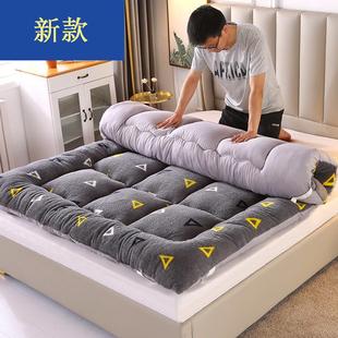 冬季加厚保暖羊羔绒床垫学生宿舍单人双人