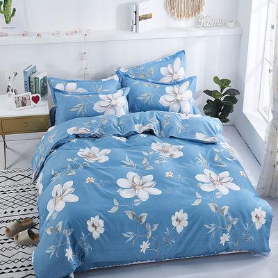 被套单人双人枕套单件床上用品