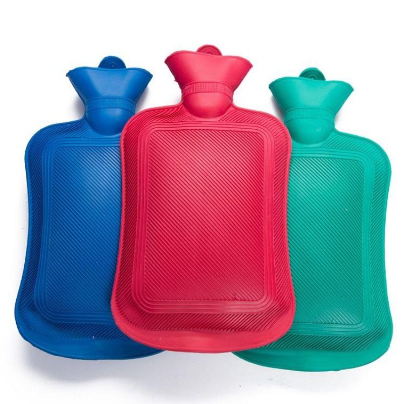 【500-2000毫升】橡胶注水热水袋暖手脚袋可拆洗�u布套暖宫宝水袋