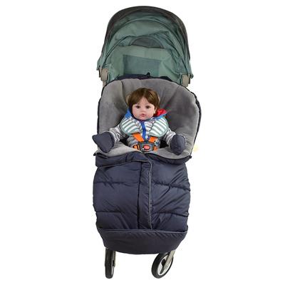 婴儿推车睡袋冬季外出防风 保暖推车脚套通用加厚坐垫脚罩防风罩