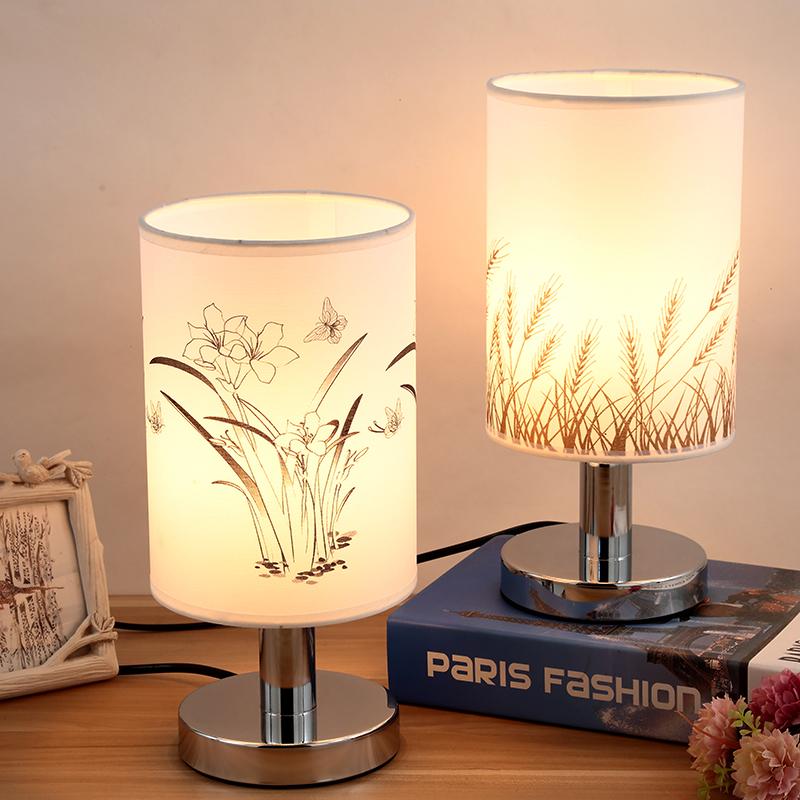 北欧实木卧室装饰台灯温馨床头床头创意喂奶灯婚庆礼物台灯小夜灯
