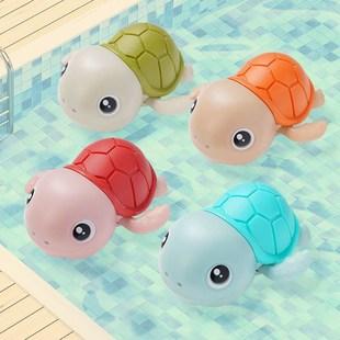 抖音同款儿童宝宝洗澡玩具女孩男孩儿童戏水浴室小乌龟婴儿玩具25