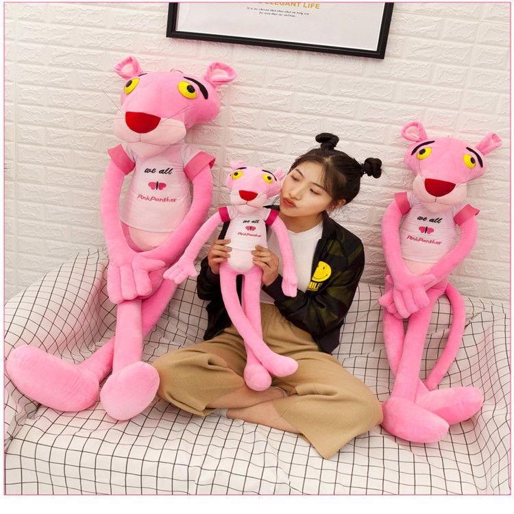 粉红豹公仔毛绒玩具抱枕送女生闺蜜同学