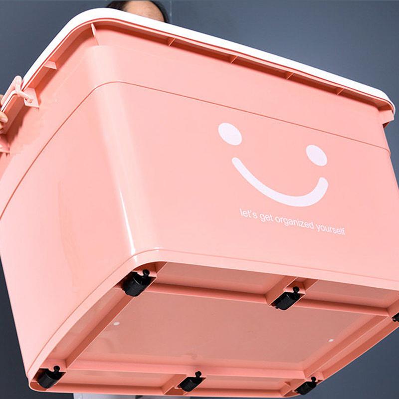 特大号收纳箱塑料整理箱超大装衣服的家用衣物加厚盒储物玩具箱子
