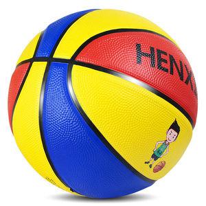 3号4号5号7号儿童软皮橡胶篮球青少年幼儿园中小学生耐磨蓝球