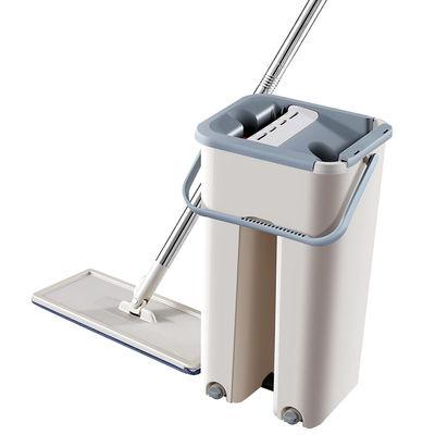刮刮乐拖把免手洗平板拖把旋转家用懒人墩布拖挤水拖布桶抖音网红