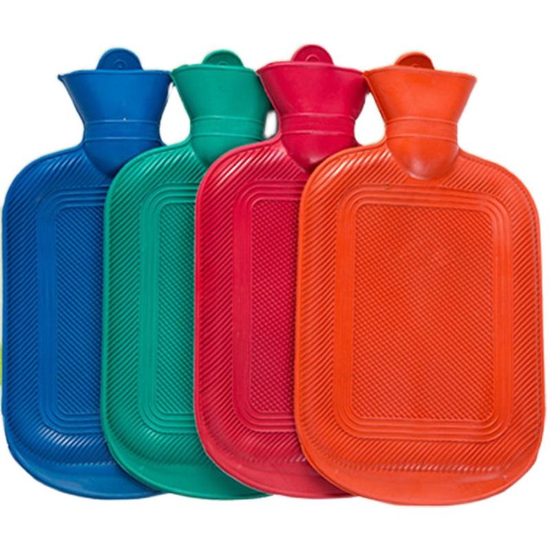 老式加厚橡胶热水袋注水暖水袋
