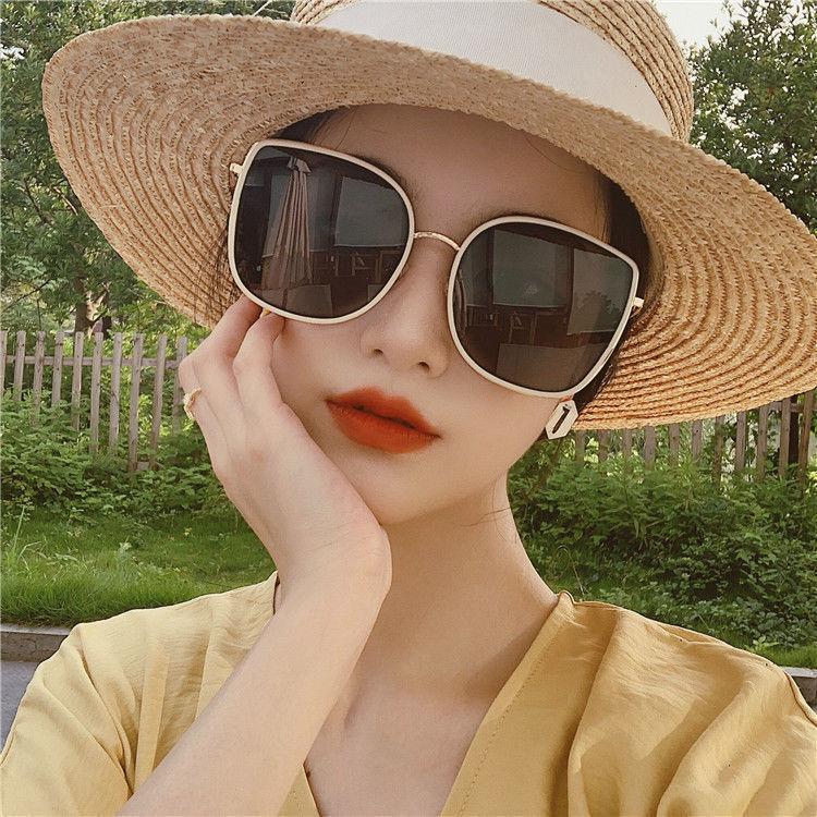 GM太阳镜大脸显瘦明星同款网红复古韩版