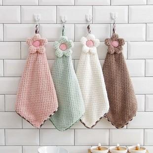 厨房擦手巾儿童可爱擦手巾挂式