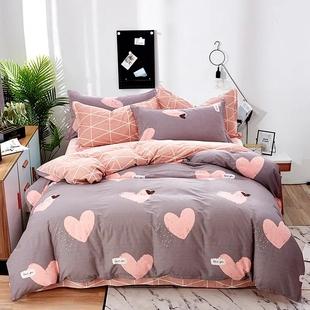 家装家纺加厚纯棉被套单件被罩