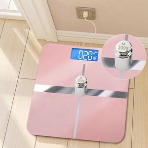 USB可充电电子称体重秤家用健康秤人体秤成人称重计器精准