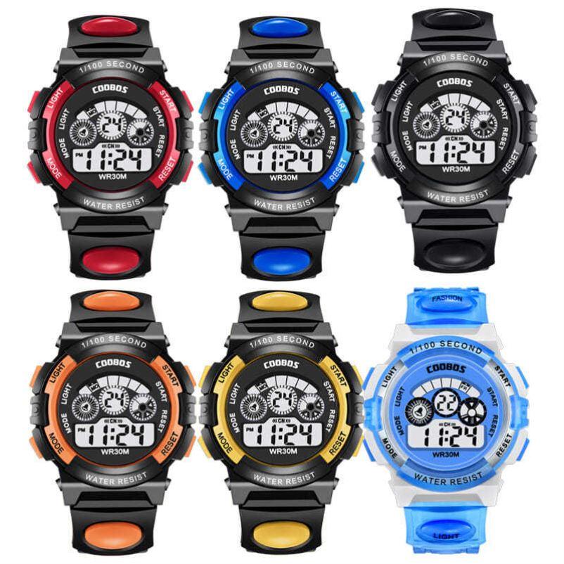 儿童男孩女孩幼儿园小学生中学生运动考试秒表计时数字式电子手表