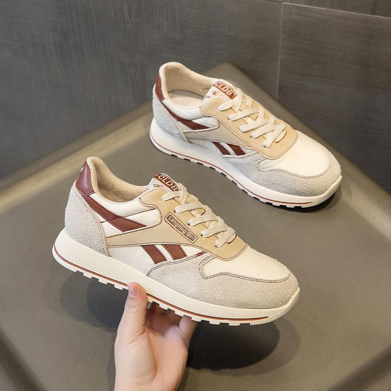 白鞋2021新款韩版女鞋子防滑时尚运动鞋