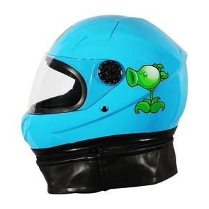儿童头盔冬季保暖摩托车头灰盔女孩男夏季小孩四季宝宝卡通安全帽