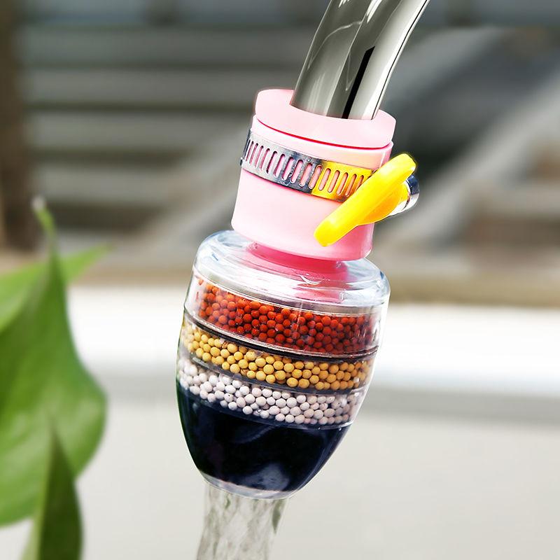 万能接头过滤器水龙头家用自来水管净化器厨房通用防溅净水滤水27