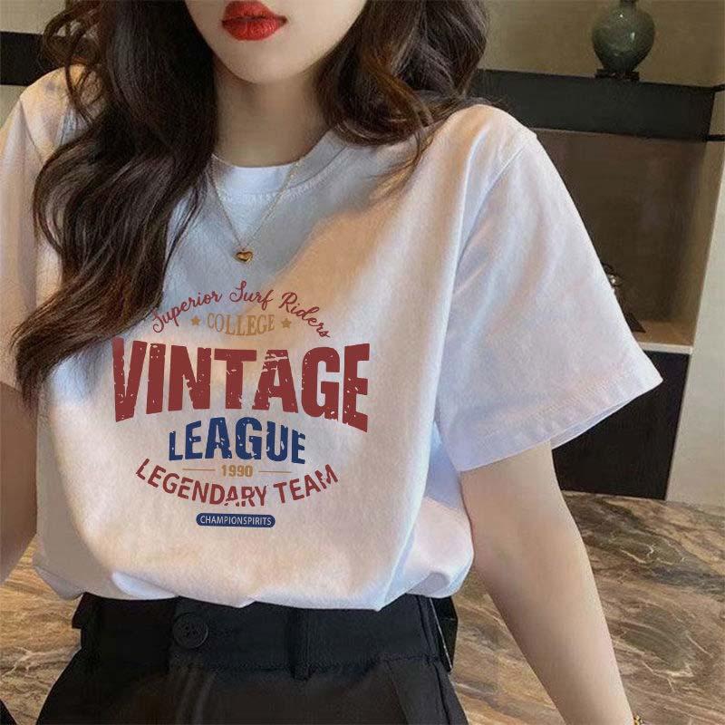 纯棉短袖t恤女夏季宽松韩版2021新款