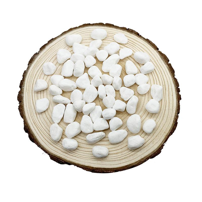 天然白石子微景观鹅卵石雨花石多肉植物铺面石鱼缸花盆装饰小石头