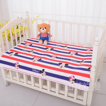 婴儿隔尿垫防水儿童床特价床垫纯棉透气12个月宝宝姨妈垫1米包邮