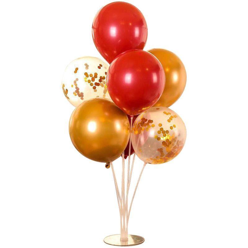 气球支架桌立柱地上飘结婚婚房场景装饰订婚生日布置婚庆路引托杆