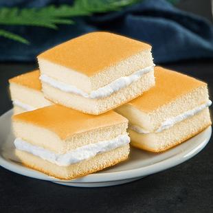 香蕉牛奶味蛋糕小蛋糕西式糕点营养早餐面包