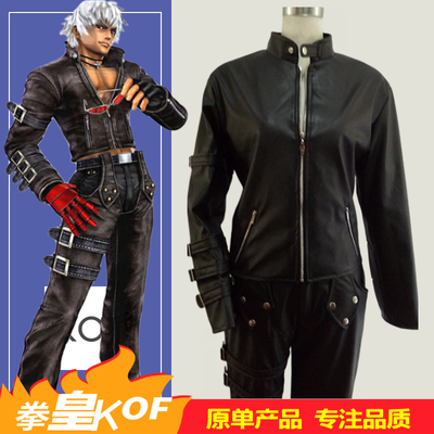taobao agent The king of fighters k cos clothing KOF99 king of fighting game cosplay costume male
