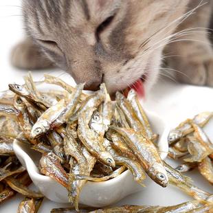 小鱼干猫咪零食肉条250g