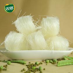 双塔山东龙口粉丝食品绿豆粉丝168g*3袋装方便酸辣粉花甲粉丝