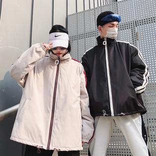 2020秋冬季韓版潮流加厚情侶棉衣