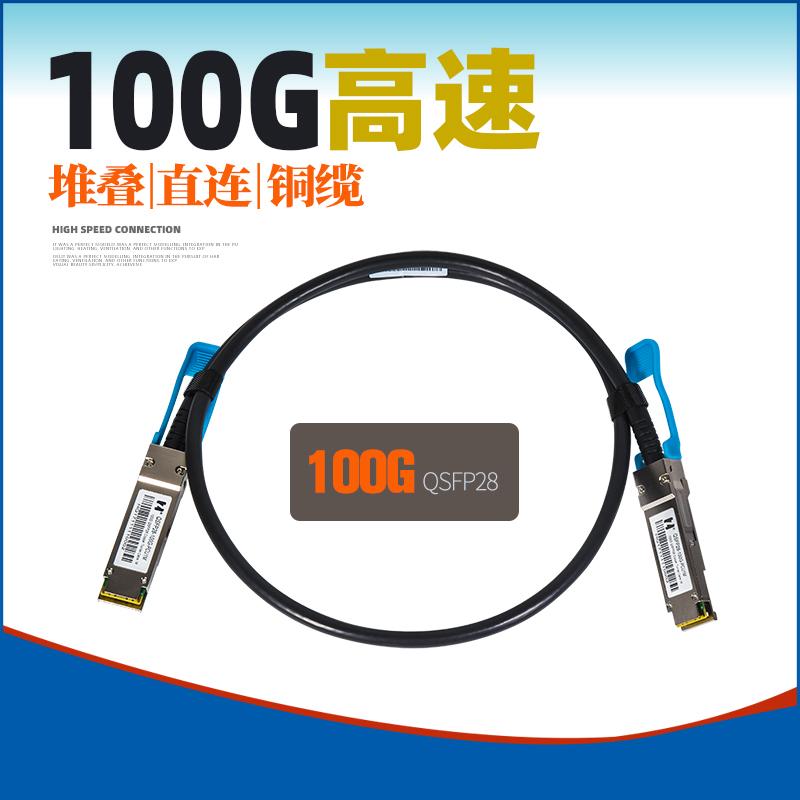 鸿章 IDC 100G QSFP28 TO QSFP28 DAC铜