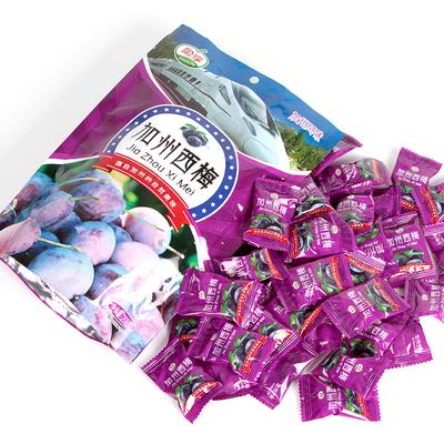 盈享酸甜加州正宗西梅零食208g袋装梅子独立包装散装西梅蜜饯干果