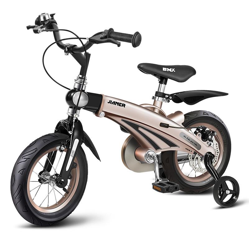 健儿可伸缩儿童自行车脚踏车
