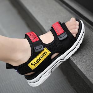 儿童鞋子男童凉鞋2020新款夏季中大童韩版学生防滑男孩休闲沙滩鞋