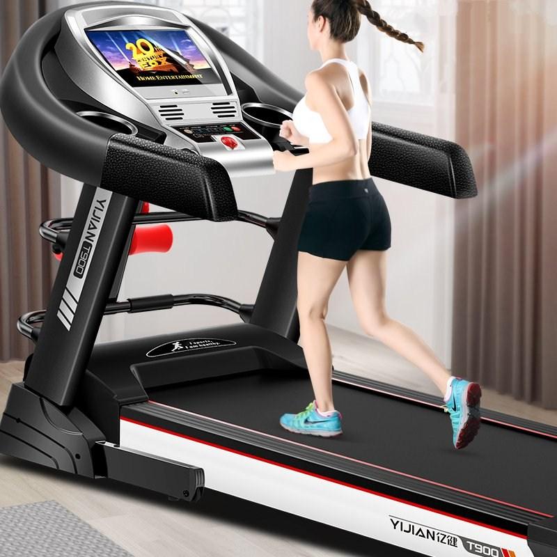 Máy chạy bộ nhà phòng tập thể dục sang trọng chuyên dụng thiết bị lớn thương mại 15.6-inch màn hình màu AC motor