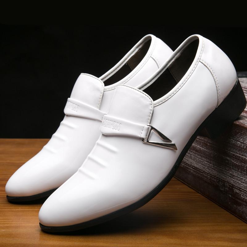 男鞋潮鞋跨境新款秋季韩版潮流男皮鞋男士休闲鞋百搭鞋子27