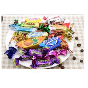 第二件1毛俄羅斯進口紫皮巧克力糖果喜糖