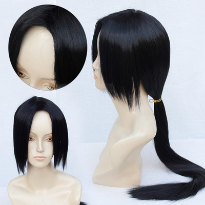 42agent [Lannuo] Naruto cos wig Uchiha 鼬 APH Wang Yao cospaly fake found goods - Taobao