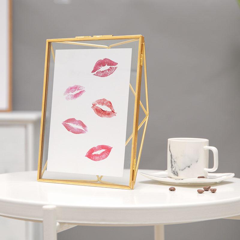 spedear DIY唇印相框礼盒,新年礼物生日送男朋友