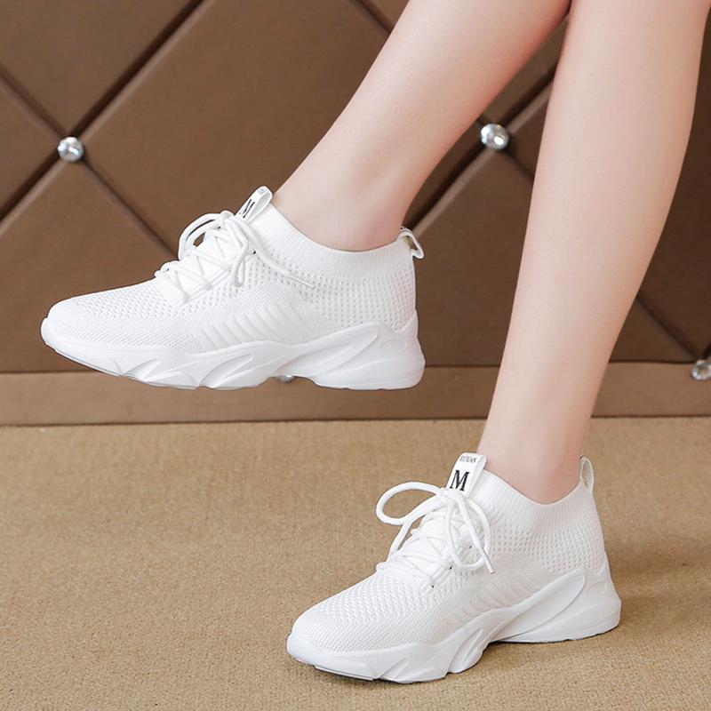 春单鞋平底网面休闲鞋轻便运动鞋潮券后45元包邮