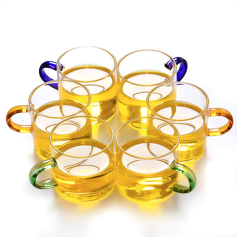 【6只装】玻璃杯<font color='red'><b>茶杯</b></font>小杯子