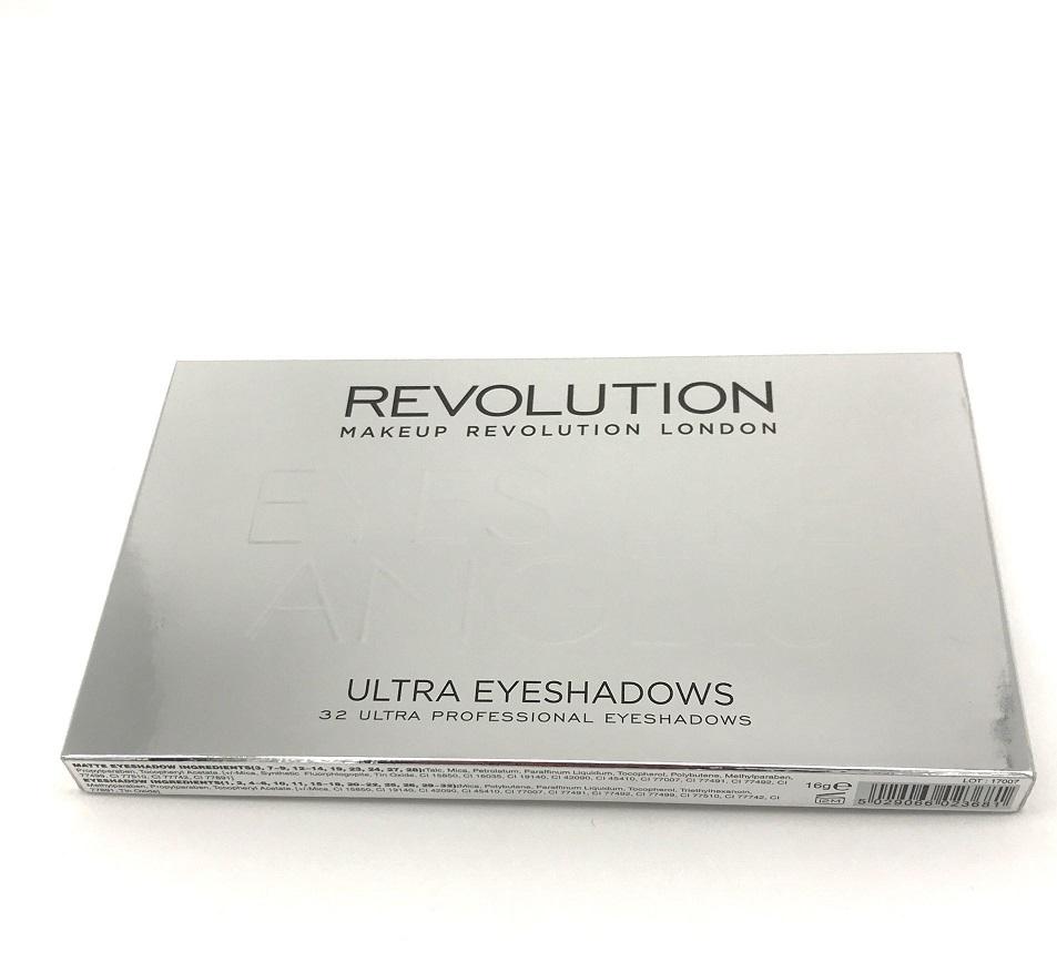 英国make up revolution 32色眼影新款很漂亮