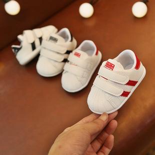 婴儿鞋春秋季宝宝鞋透气软底学步鞋