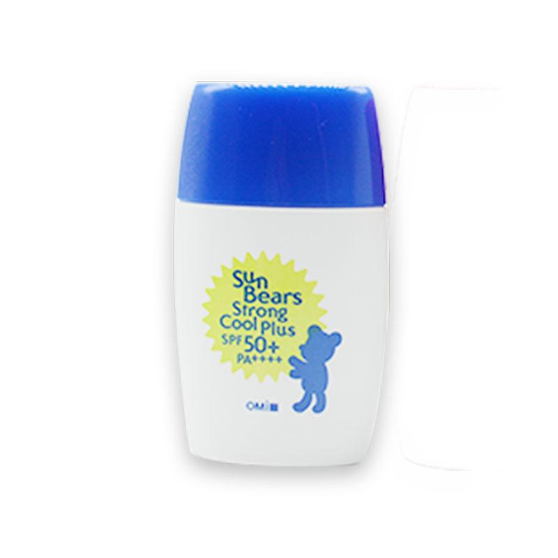 日本OMI近江兄弟小熊防晒霜儿童孕妇防水全身乳可用SPF50正品包邮_淘宝优惠券