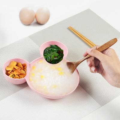 创意卡通小碟子小吃调味碟调料碟可爱家用分格盘子餐具小菜酱油碟
