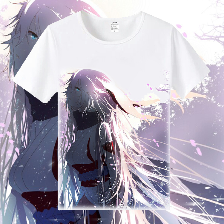 Gaming Honkai Impact 3 Yae Sakura T-Shirt Short Sleeve Causal Top Unisex Gift