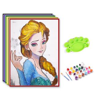 【15件】涂鸦水彩画颜料儿童画画套装