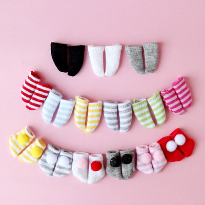 taobao agent ob11 baby clothes 12 points bjd doll clothes beautiful knot pig GSC clay socks socks PICCODO