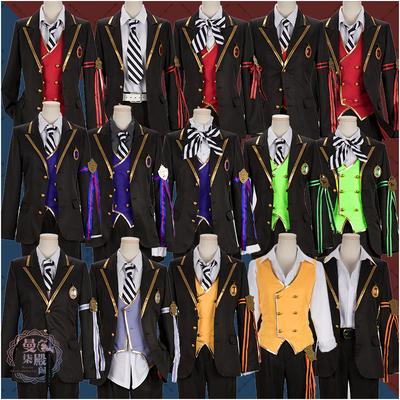 taobao agent Vil Malleus Azul Jade Riddle Lilia Floyd Leona Ace cos school uniform