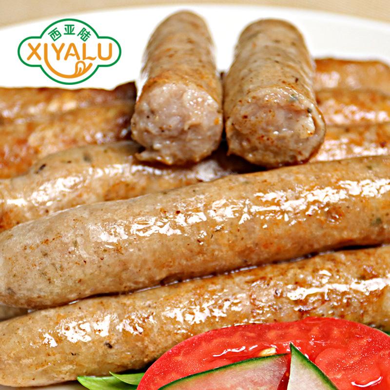 【荷美尔特惠装-纽伦堡风味香肠1kg】德式纽伦堡早餐肠烧烤涮热狗